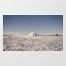 Winter, Galpin Church, Montana 3 Rug