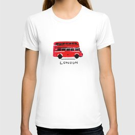 London Big Bus 2 T-shirt