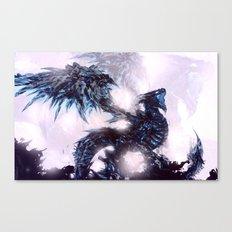 Coldfire Dragon Canvas Print