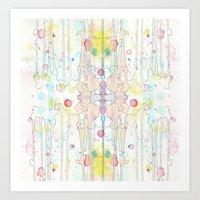 splatter Art Prints featuring Splatter by Tammy Kushnir