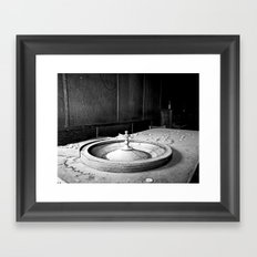 Roulette Framed Art Print