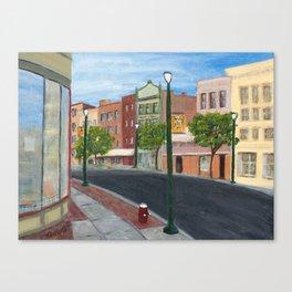 Troy's Favorite Street Canvas Print