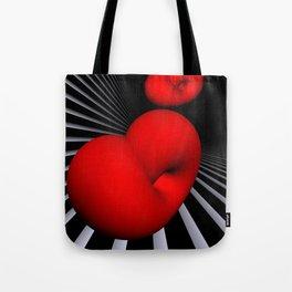red white black - Klein's bottle Tote Bag