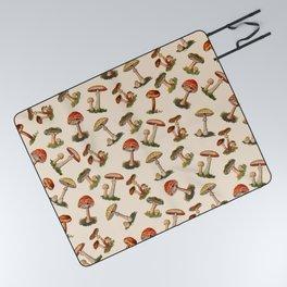 Magical Mushrooms Picnic Blanket