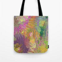 kindle Tote Bags featuring alba by giancarlo lunardon