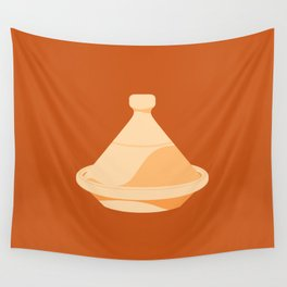 MADE IN MOROCCO #03-THE COOKING POT Wall Tapestry