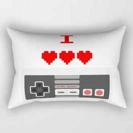 NES - I LOVE NINTENDO Rectangular Pillow