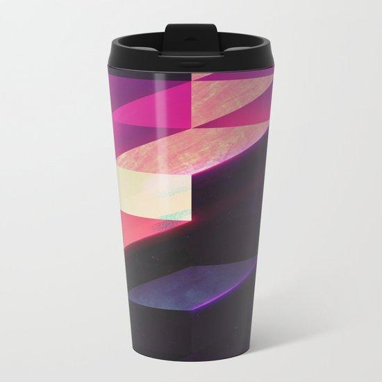 synthblyck Metal Travel Mug