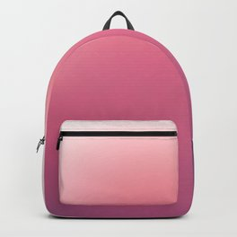 White, Pink, Claret and Purple Blurred Background Backpack