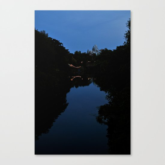 Expedition Everest (Night Time) Canvas Print