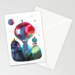 Albero maestro Stationery Cards