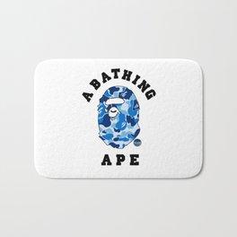 Bape Blue Bath Mat
