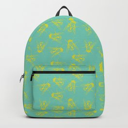 Fly on the Wall - Yellow Backpack