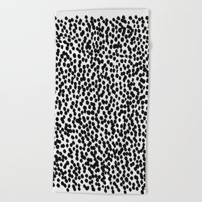 Dots 11 Beach Towel