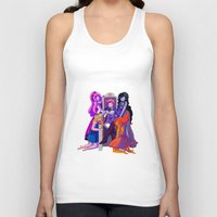 gumball Tank Tops featuring The Madness of Prince Gumball by CloudyLights