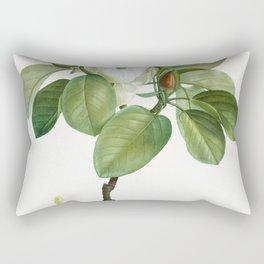 Magnolia (magnolia glauca) from Traite des Arbres et Arbustes que lon cultive en France en pleine te Rectangular Pillow