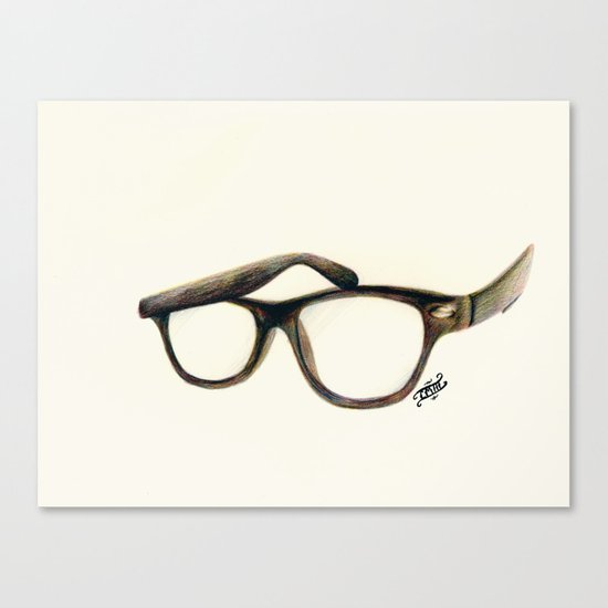 Hipster's Paradox Canvas Print
