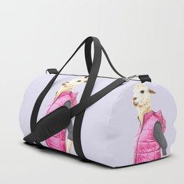 Fashionable Llama Duffle Bag