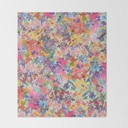 Prairie Wildflowers Throw Blanket