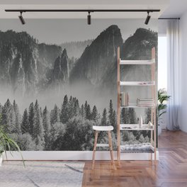 Yosemite Valley X Wall Mural