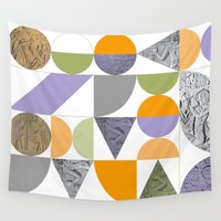 egypt Wall Tapestries featuring Geometric Egypt by k8goff