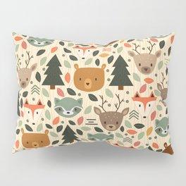 Woodland Creatures Pillow Sham