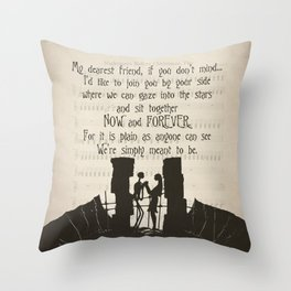 NBC Throw Pillow