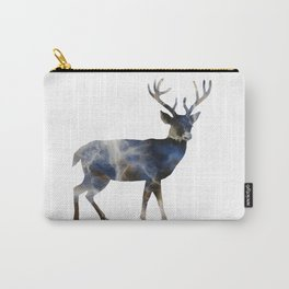 Marble Deer Carry-All Pouch