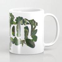 vegan Mugs featuring Vegan by Kopie Creative