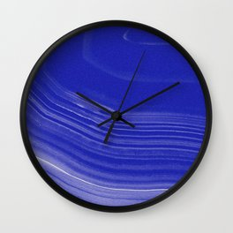 PANACEA BLUE Wall Clock