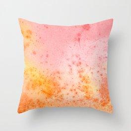 Vintage Paper Texture - Pastel Fantasy Throw Pillow