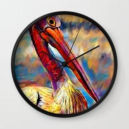 Pelican 4 Wall Clock