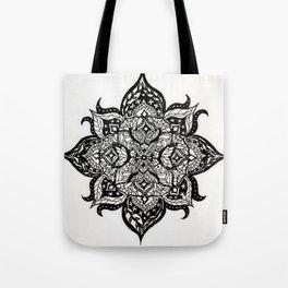 Wing Mandala Tote Bag