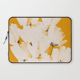 Flowers In Tangerine Laptop Sleeve