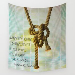 Tie a Knot and hang on Wall Tapestry