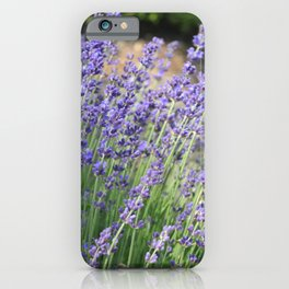 Lavender Wave iPhone Case