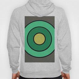 Mint Gray Target Hoody