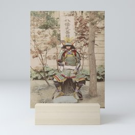 Japanese Warrior Vintage Photo Mini Art Print