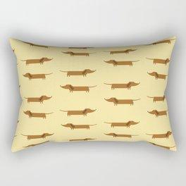 Dachshund Mania #1 Rectangular Pillow