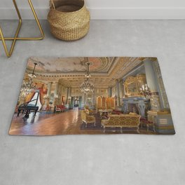 Newport Mansions, Rhode Island - The Breakers Music Room by Jeanpaul Ferro Rug