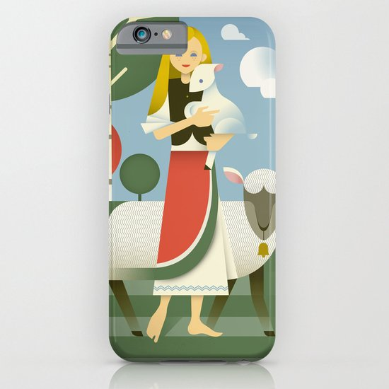 Mary iPhone & iPod Case