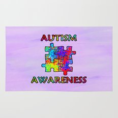 Autism Awareness Rug