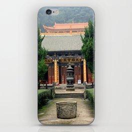 Mountain Temple iPhone Skin