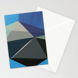 Classic Blue 3 Stationery Cards