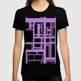 Lilac lines T-shirt