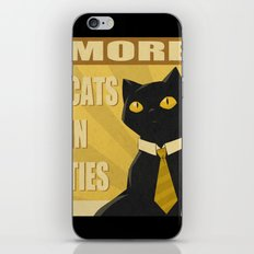 Cats in Ties - PSA iPhone & iPod Skin