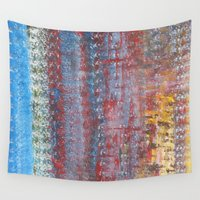 journey Wall Tapestries featuring Journey by Angela Bruno