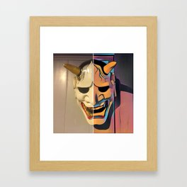 Demonik Framed Art Print