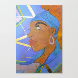Electric Lady Canvas Print