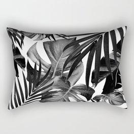 Tropical Jungle Leaves Pattern #10 #tropical #decor #art #society6 Rectangular Pillow